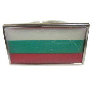 Bulgaria Flag Fashion Ring